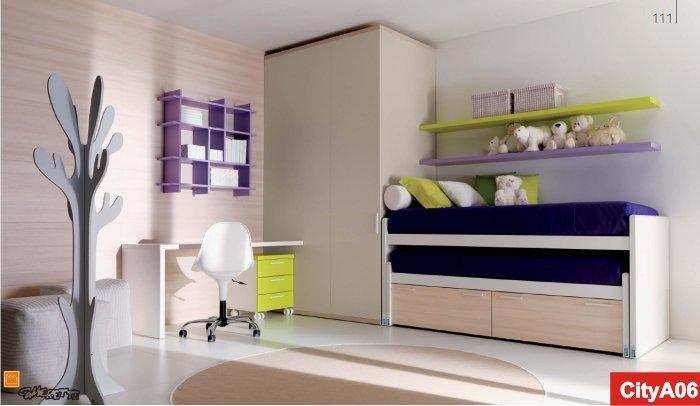 camere doppie | Camerette Doimo